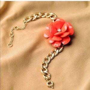 3/$20 Red Flower Bracelet